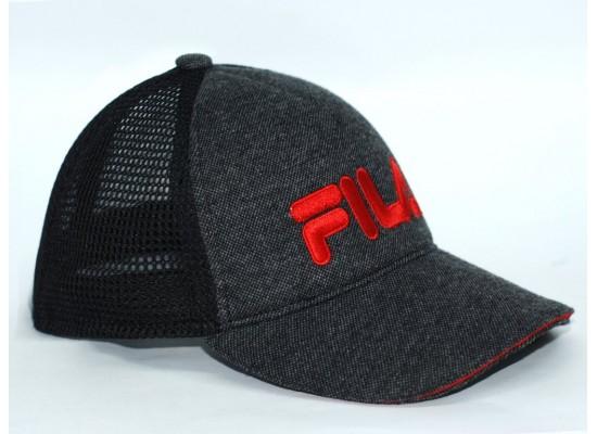 Бейсболка мужская FILA (Сетка+Вышивка+МАРС)