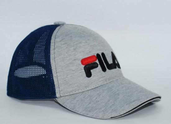 Бейсболка мужская FILA (Сетка+Вышивка)