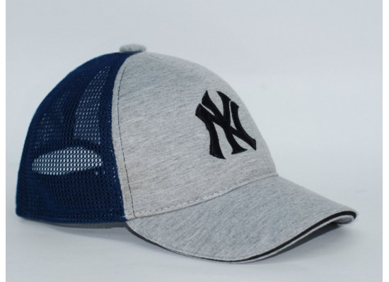 Бейсболка мужская NEW YORK (Сетка+Вышивка)