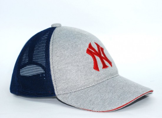 Бейсболка мужская NEW YORK (Сетка+Вышивка+МАРС)